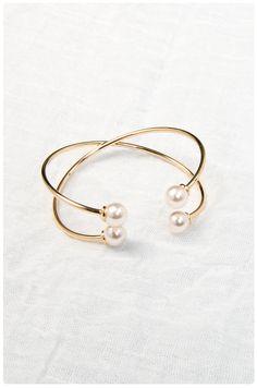 Pearl Wrap Cuff | $18