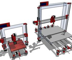 Instructables on how to build a Prusa i3 Rework, a stunning 400x400x400mm printing envelope.
