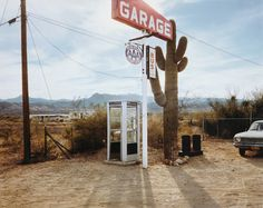 Stephen Shore - U.S. 93, Wikieup, Arizona, December 14, 1976
