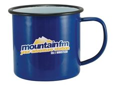 These branded Coloured Enamel Mugs (20oz/580ml) are full of character and won't cost you a pretty penny! These are one of most frequently enquired for products! Find it here > http://www.completemerchandise.co.uk/promotional-drinkware/promotional-mugs/promotional-enamel-mugs.html?___SID=U