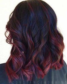 21 Amazing Dark Red Hair Color Ideas