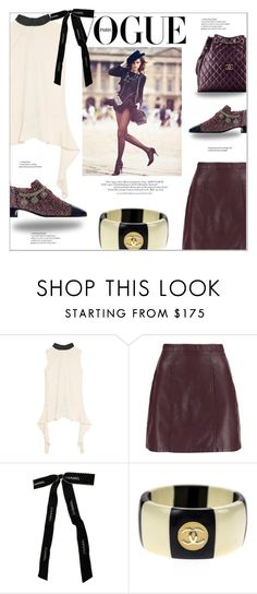 """⤷ 264"" by lovaconsultancy ❤ liked on Polyvore featuring Marni, Chanel and paris"
