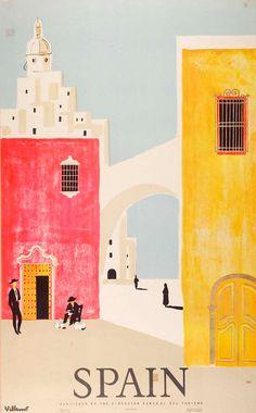 Spain by Villemot
