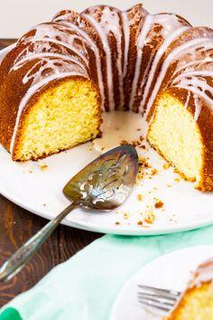 Five Flavor Pound Cake with glaze. Five Flavor Pound Cake, Pound Cake Recipes, Pound Cakes, Southern Pound Cake, Cream Cheese Pound Cake, Just Cakes, Dessert Recipes, Desserts, Postres