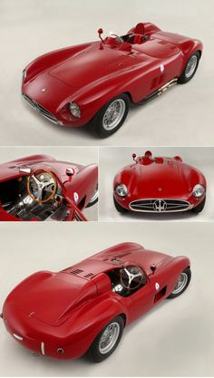 11955 Maserati 300S Sports-Racing Spider Were bringing the 50's back!!!