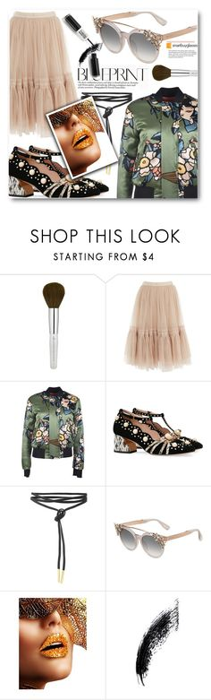 """""""Smartbuyglasses Contest"""" by eclectic-chic ❤ liked on Polyvore featuring Needle & Thread, Dsquared2, Gucci, Jimmy Choo, sunglasses and smartbuyglasses"""