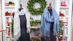 Orly Shani shared a fancy way to bring Winter to your wardrobe with her Beaded Fringe Scarf, inspired by premiering SATURDAY at on Hallmark Channel. Home And Family Tv, Home And Family Hallmark, Hard Crafts, Hallmark Homes, Stair Makeover, Fringe Scarf, Scarf Wrap, Family Crafts, Hallmark Channel
