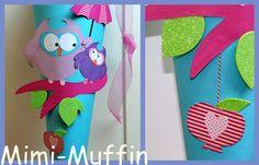 .............Mimi-Muffin.............: 4 Schultüten habe ich gebastelt...