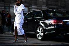 On the Streets of Paris Fashion Week Fall 2015 - Paris Fashion Week Fall 2015 Street Style Day 1-Wmag