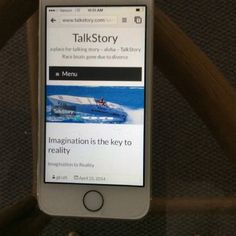 "TalkStory.com is back online in ""iMac, iPad, iPhone, Verizon Android"" formats.  a Gordon H Kraft website."