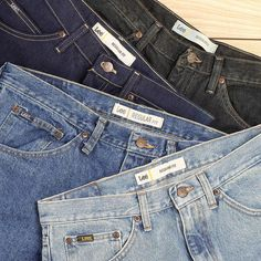 Every shade of indigo has its own unique story and style. Which shade are you? Comment below with your favorite! #leejeans #lee #jeans #denim