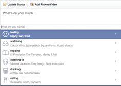 الفيسبوك يصبح اكثر إجتماعية مما سبق , وتفاعل افضل واكبر في Staus Updates ! ـــــــ الموقع الإجتماعي يرغب أكثر في التفاعل بين المستخدمين ... لدرجة انه يرغب في ان يعرف ماذا تفعل الأن .. لذلك قام المو...