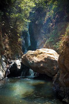 The Rock! View On Black Valle de Bravo, Mexico