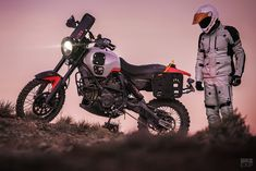 Ducati dirt bike: The Earle Motors Alaskan Desert Sled Yamaha Wr, Ducati Scrambler, Scrambler Motorcycle, Buy Bike, Bike Run, Desert Sled, Motocross Racing, Specialized Bikes, Bike Accessories