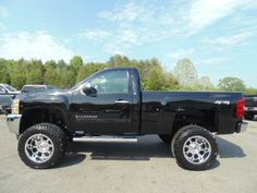 ONE OWNER JUST LIFTED 2013 Chevrolet Silverado 1500 LT 4x4 2dr Regular Cab 6.5…
