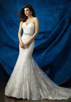 Allure Bridals 9368 Sheath Wedding Dress