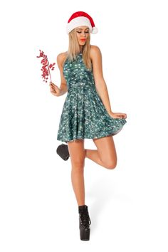 Christmas Tree Reversible Skater Dress › Black Milk Clothing M (altered from XL)
