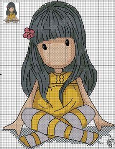 Gorjuss cross stitch pattern