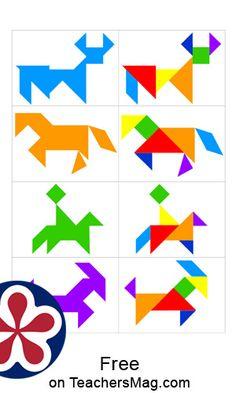 tangram butterfly   atividades sensoriais, atividades