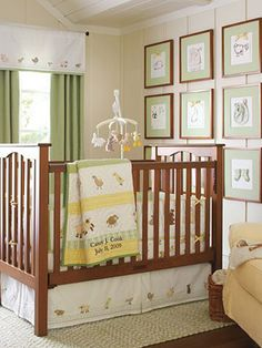 like the cream, pale green and yellow for gender neutral room!!Gender Neutral Nurseries - Nursery Ideas - SLideshow