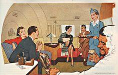 #VintageAd Pan Am Airlines 1950s
