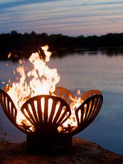 Barefoot Beach Fire Pit from Fire Pit Art on Taigan