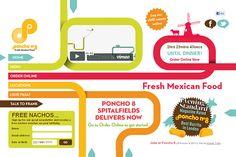 Poncho 8 in Creative Navigation In Web Design
