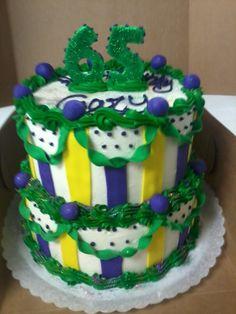 Mardi Gras Cake Ceative Kitchen Ft. Smith Ar