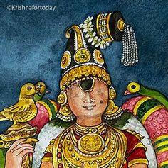 Krishna Painting, Lord Vishnu, Hindu Art, Indian Home Decor, Indian Paintings, Illustration Art, Illustrations, Book Lovers, Polymers