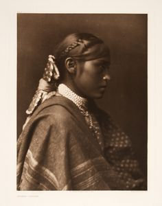 SÍGĔSH – Apache, 1904, photogravure by Edward S. Curtis, from the permanent collections of Arizona State Museum.