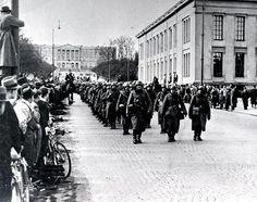 09.04.1940 Andre verdenskrig: Tyskland invaderte Danmark og Norge - Norske styrker senket det tyske krigsskipet «Blücher»