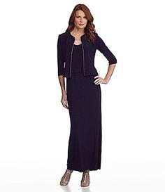 Alex Evenings Jacket Dress   Dillards.com