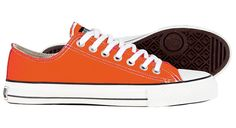I love these ETHICAL orange kicks (though I'd probably never wear them). Hopefully, you will!