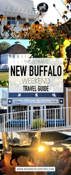 The ultimate weekend guide to 48 hours in New Buffalo, Michigan!
