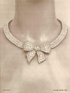 Imagen de la campaña original. Chanel 1932