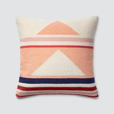 Modern Geometric Throw Pillow from The Citizenry