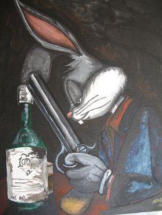 bugs bunny by phoenixbeer
