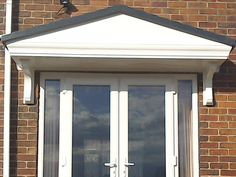 Large GRP replacement door canopy & LED Lights can be fitted to all our Fiberglass door canopies ...