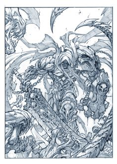 Kwan Chang :: For Sale Artwork :: Video Game Stuff by artist Joe Madureira Comic Book Pages, Comic Book Artists, Comic Artist, Comic Books Art, Joe Madureira, Wolf Illustration, Comic Kunst, Comic Styles, Amazing Art