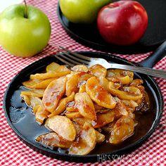 Fried Apples--Cracker Barrel Copycat