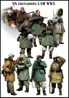 SS Grenadier BigSet from Evolution Miniatures. Fantastic 10 man set of 1/35 scale figures from Russia. Click on the pic for more from Evolution Miniatures