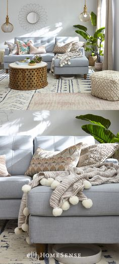 Find a Store, Find Décor. Use the store locator to get to your nearest HomeSense location for up to off on all your home décor needs! Condo Living, Cozy Living Rooms, My Living Room, Apartment Living, Home And Living, Living Spaces, Deco Studio, Condo Decorating, Deco Design
