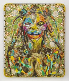Ashley Bickerton- Mitochondrial Eve, Arlene Shechet, 1980s Art, Grayson Perry, Digital Ink, Jeff Koons, Contemporary Artists, Art Inspo, Moose Art
