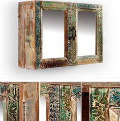 Armoire à miroir BLUE LAGOON multicolore decodesign / Décoration