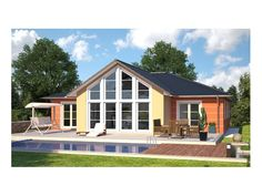 Fertighaus bungalow modern  Perfect 2 | HANLO - Fertighaus | Pinterest