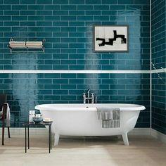 Subway Style Ceramic Wall Tiles for kitchens and bathrooms MANHATTAN Collectione by @fapceramiche #designbest #metropolitanstyle #bathroominspiration #blu • • • • • • • • #интерьер #дизайнинтерьера #архитектура #дизай #decoraçaodeinteriores #освещение