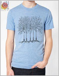 0ae840461b08e Arrow Trees Boho Feathers Arrowhead T shirt Unisex Men s Women s Nature  Theme American Apparel Tee T