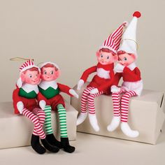 Red, Green, and White Bendable Elf Christmas Ornament 14509001 Elf Christmas Tree, Old World Christmas, Christmas Store, Christmas Games, Christmas Greetings, Christmas Shopping, Christmas Ornaments, Bear Statue, Unique Christmas Decorations