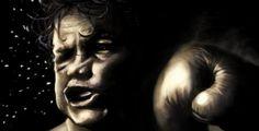 Um novo estudo sugere que os ossos de rostos humanos masculinos evoluíram para minimizar danos causados por socos em lutas.