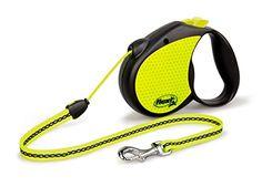 flexi Roll-Leine Neon Reflect M Seil 5 m Neon/schwarz für Hunde bis max. 20 kg Flexi http://www.amazon.de/dp/B00K64SH2I/ref=cm_sw_r_pi_dp_hG9lwb0BVEQN1